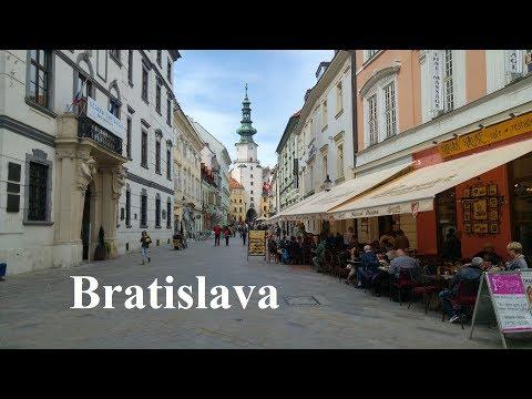 A day in windy Bratislava