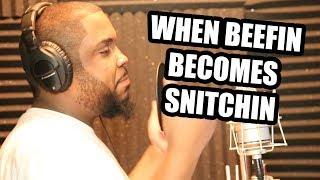 WHEN BEEFIN BECOMES SNITCHIN (Comedy Rap Skit)