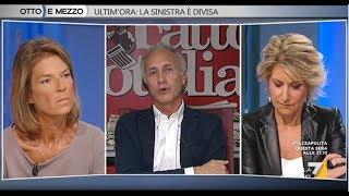 Otto e Mezzo (La7) 05 Ottobre 2017 / Marco Travaglio - Claudia Fusani - Tiziana Ferrario