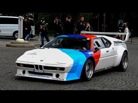 Tour Auto 2019 (BMW M1, Ferrai 275, DeTomaso Pantera,...)