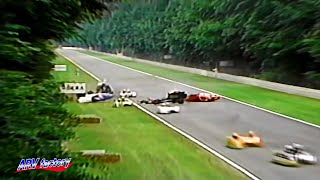Big Crash at 1994 Sidecar Hockenheim