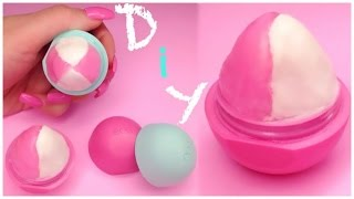 Diy Tinted Eos Lip Balm In 2 Toned & Checkered Designs !! Easy !!