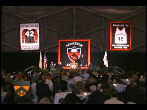 Banner Raising Ceremony at Princeton