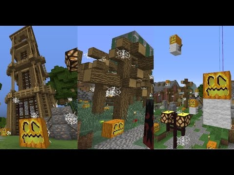 haunting halloween decorations s3e124 dozacraft smp minecraft survival multiplayer 188
