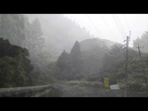 Mountain produce fog 霧を生む山 Japan of fog.