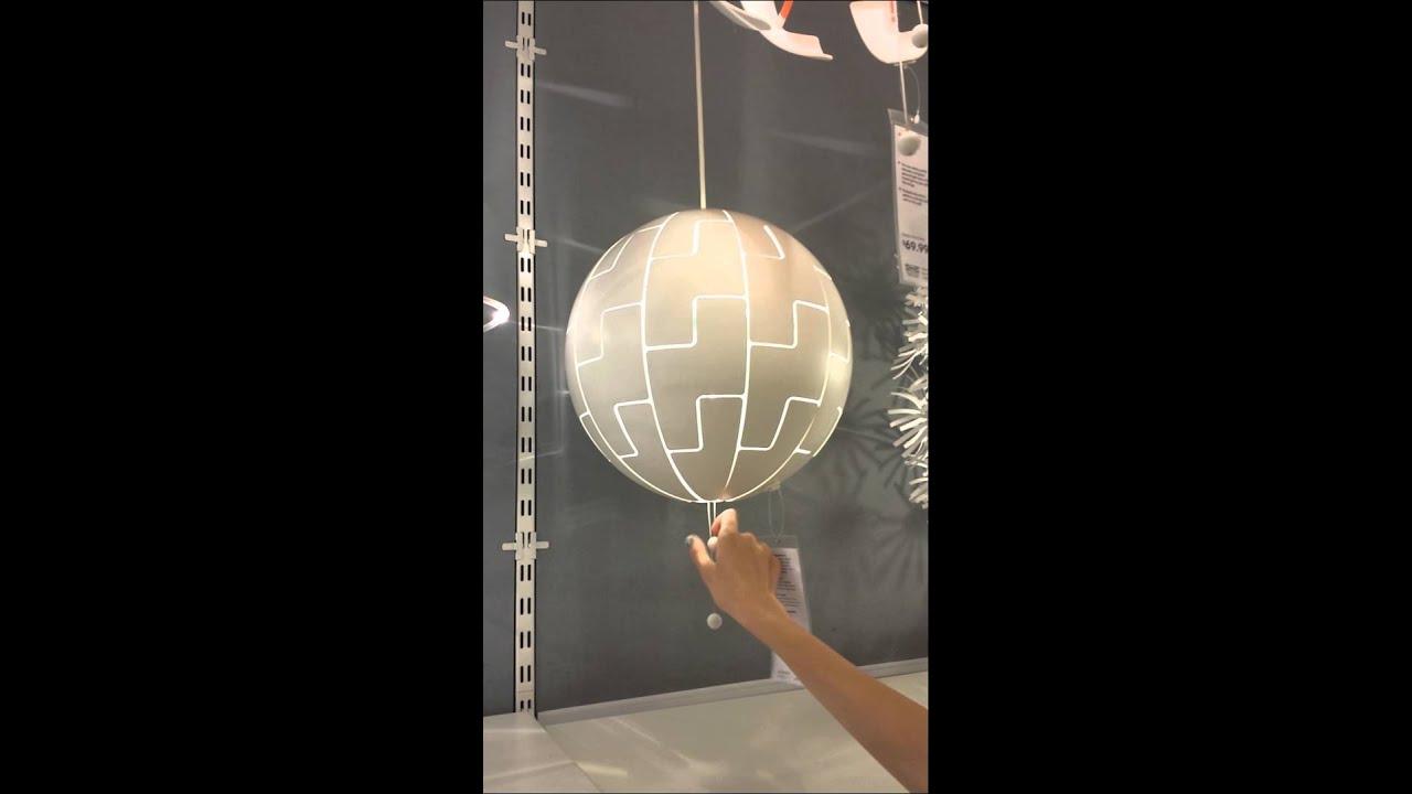 Death Star Lamp - YouTube