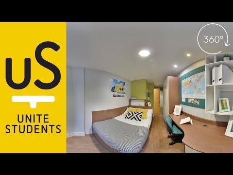360° Tour - Edinburgh Student Accommodation   Unite Students