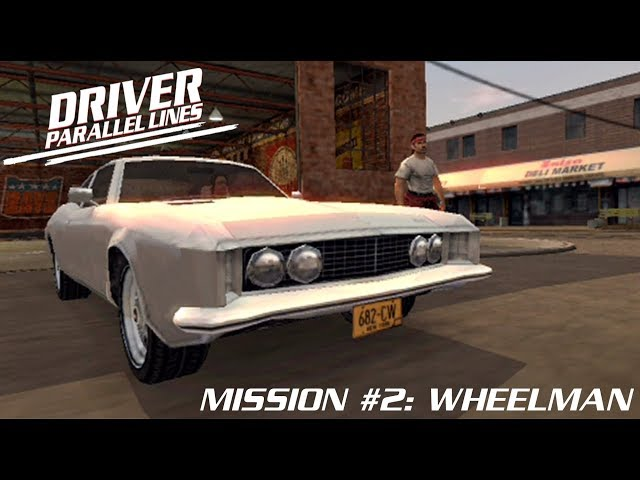 Driver: Parallel Lines (PS2) Mission #2: Wheelman