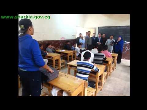 محافظ الشرقية يتفقد مدرسة كفر أبراش الثانوية المشتركة