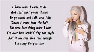 Ariana Grande - Focus (Instrumental with lyrics on screen)
