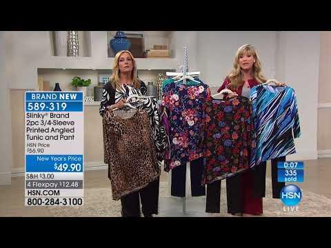 HSN   Slinky Brand Fashions 01.26.2018 - 08 PM