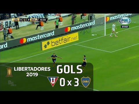LDU 0 x 3 Boca Juniors - Libertadores 2019