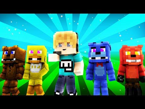 FNAF World - PEWDIEPIE?! (Minecraft Roleplay) Day 9