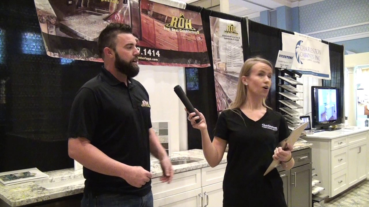 Real Deal Countertops At The  Charleston Home Design Show - Charleston home design