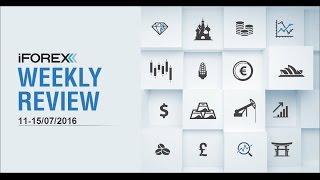 iFOREX Weekly Review 11-15/07/2016: China, EUR/USD and JPMorgan.