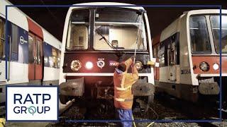 RER B : la propreté des trains - épisode 4