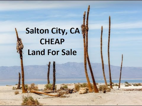 Salton Sea Land For Sale - West of Highway