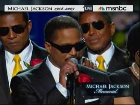 Michael Jackson Memorial - Jackson Brothers Closing Comments