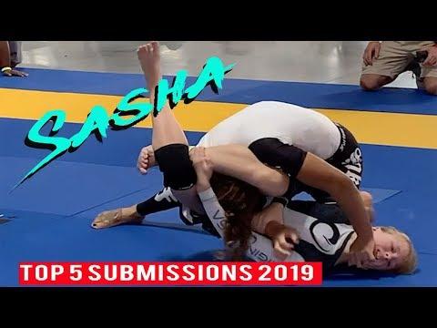Women's Jiu Jitsu Top 5 Submissions 2019