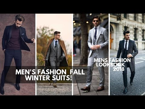 Men\'s Suits | Fall Winter 2018 - 2019 | Men\'s Fashion | Lookbook Inspiration  PART 2