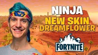 Dreamflower Skin! Fortnite Battle Royale - Stream Ninja #1