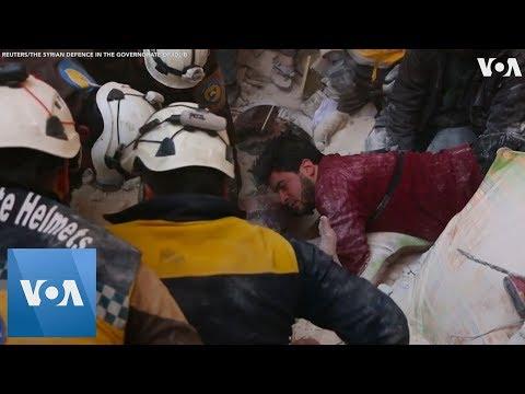 Blast in Syria's Rebel-Held City Kills 17