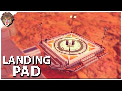 No Man's Sky Landing Pad, Insulating Gel, Lubricant Blueprint Foundation Update