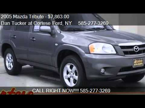 2005 mazda tribute s for sale in rochester ny 14623 youtube. Black Bedroom Furniture Sets. Home Design Ideas