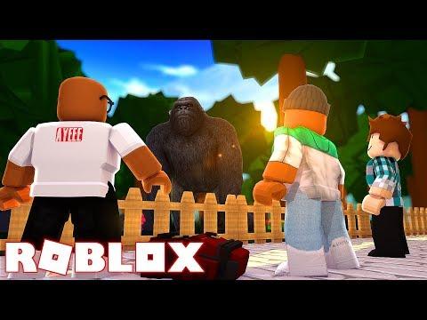 Meeting King Kong In Roblox Roblox Gorilla Simulator - kaelin on games roblox