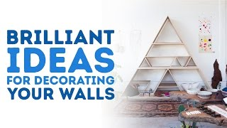 AMAZING ideas for decorating your walls l 5-MINUTE CRAFTS