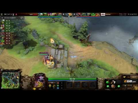 EHOME vs LGD -  Game 2 - The Summit 6 China Qualifiers - @Lu