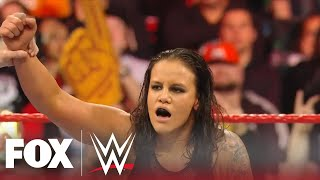 Shayna Baszler dominates Kairi Sane, wins by submission in first-ever on RAW | MONDAY NIGHT RAW
