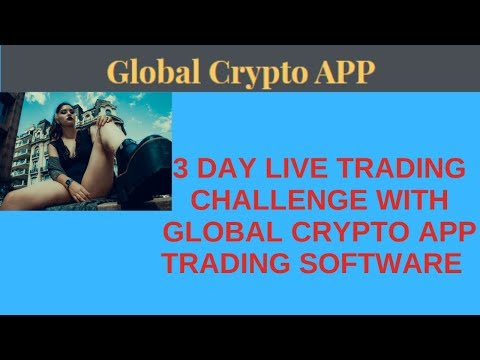 3 Days Live Trading Challenge With Global Crypto APP Trading Software