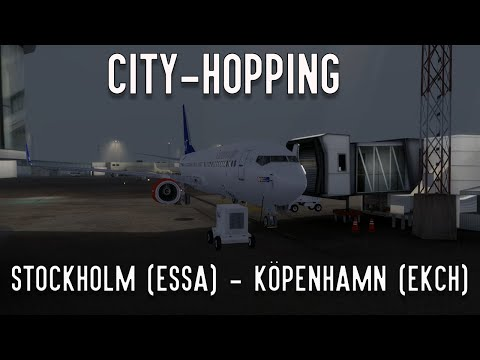 Prepar3D | City-Hopping igenom Europa #01 | ESSA - EKCH