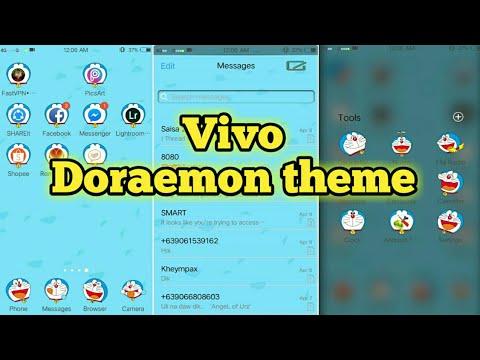 Doraemon Theme For Vivo Phones