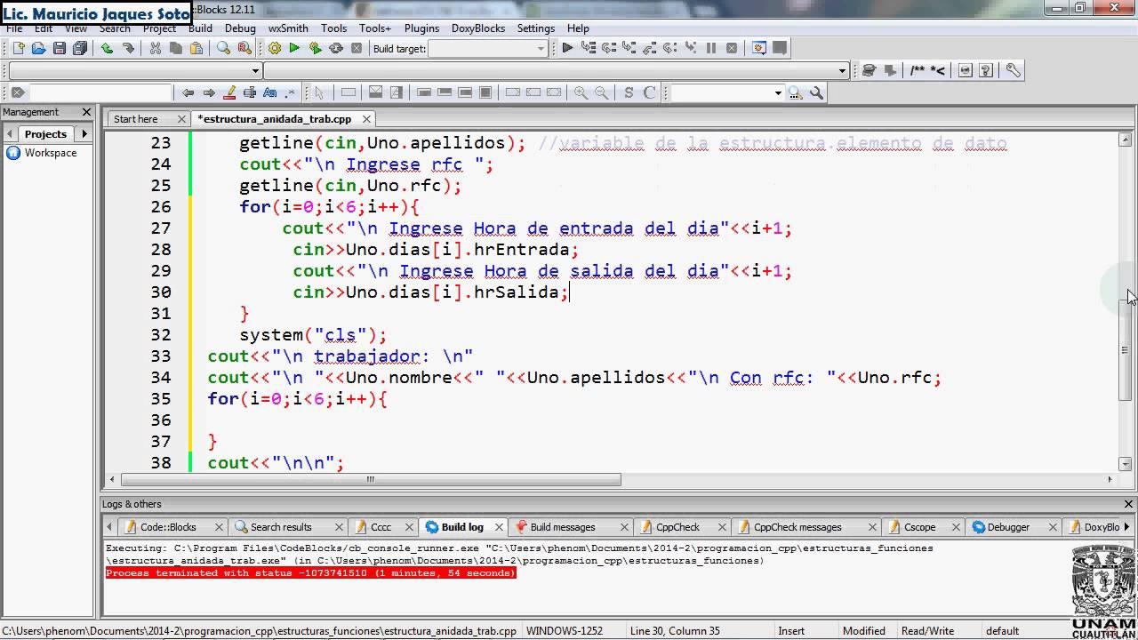 Estructuras Registros Con Estructuras Anidadas Youtube