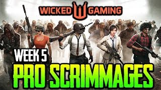 Wicked Gaming Pro Scrimmages Week 5 - ft. Lights Out, Existence, OPGG, Confound PUBG MOBILE