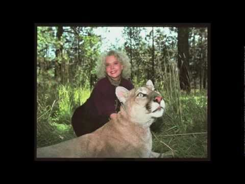 Pet Mountain Lion and Betty Weider