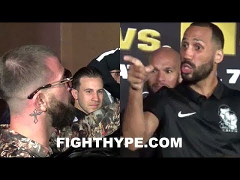(SH*T GOT SERIOUS!) JAMES DEGALE & CALEB PLANT GO AT IT; PLANT CRASHES TRUAX VS. DEGALE 2 PRESSER