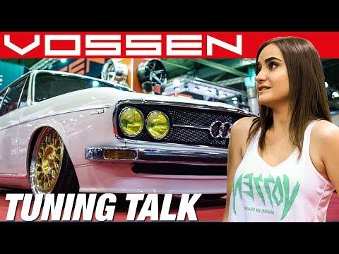 Maria EVO Lady, VOSSEN Wheels, Tuning Talk at Essen Motor Show | RACECITY