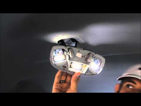 2009 - 2014 Ford F150 Interior Lights Replacement