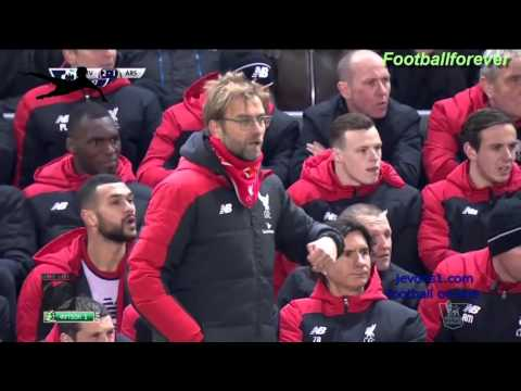 Wenger Vs Jurgen Klopp reaction