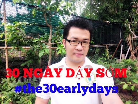 [30 early days] Ngày thứ 00: Về mục tiêu ban đầu của 30 ngày dậy sớm