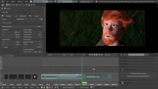 Видео-редактор Blender 25 - Группы дорожек