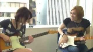 リア・ディゾンleahdizonギターに挑戦「Real G-ZONE」16 http://www.lea...