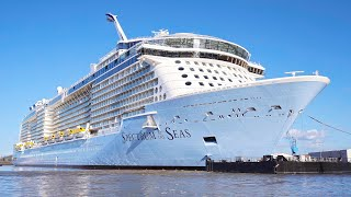 Spectrum of the Seas: Testing of Bow Thrusters at the shipyard