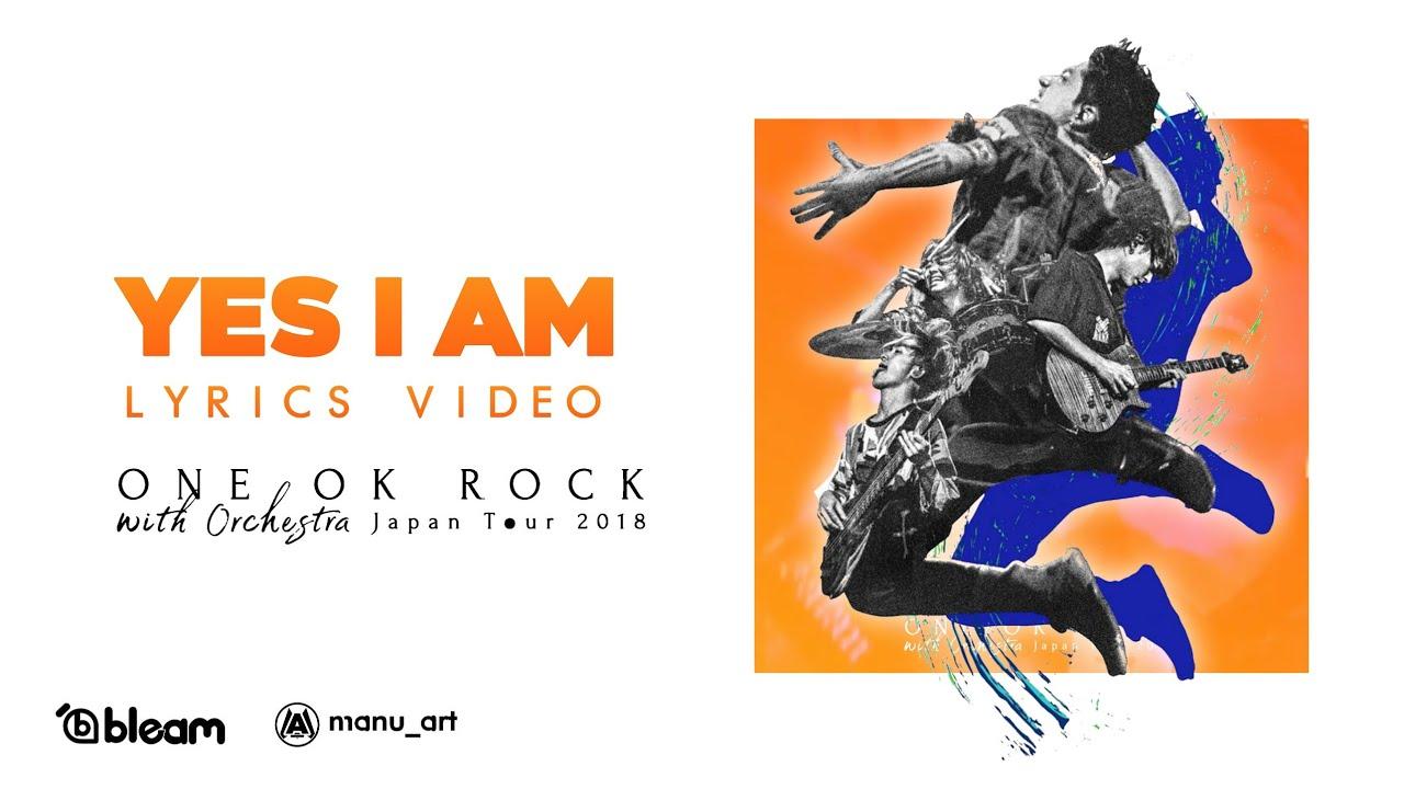 ONE OK ROCK - Yes I Am (Orchestra ver ) | Lyrics Video | Sub español