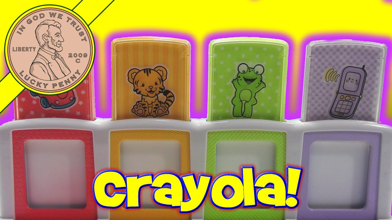 Crayola Beginnings Baby Pop Up Color Changing Poppin\' Kids Infant ...