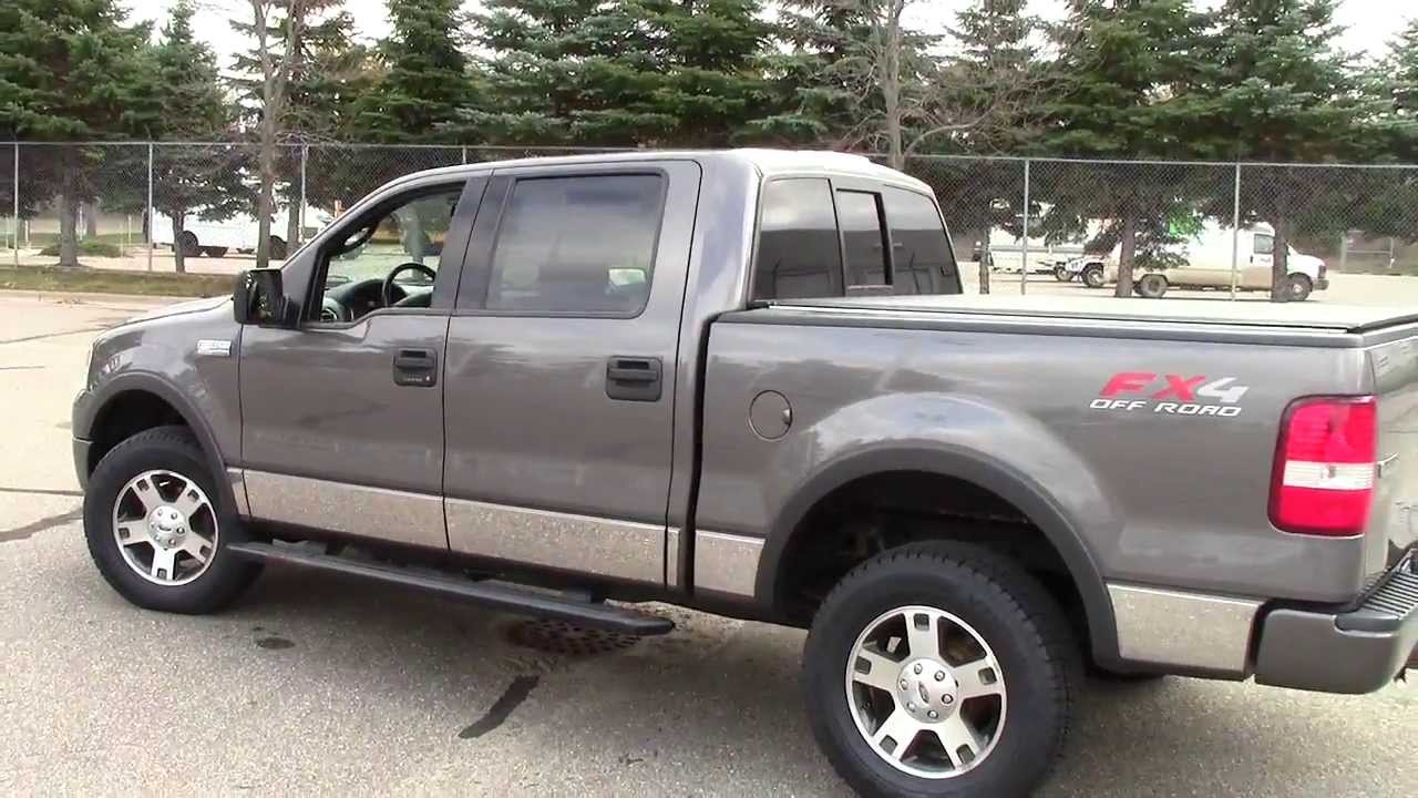 2004 ford f150 super crew fx4 4wd youtube