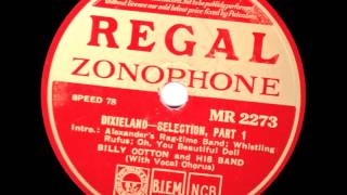 Dixieland Selection - Billy Cotton and his Band -1936